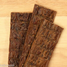 "50 Count Happy Howies 12"" BEEF JERKY STICKS Natural USA Dog Treats Chews bully"