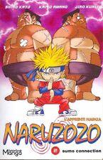NARUZOZO tome 2 SHIRO KURITO parodie NARUTO manga