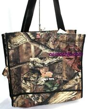 MOSSY OAK INFINITY CAMO CAMOUFLAGE EMBROIDERED DIAPER BAG - DADDY'S BABY
