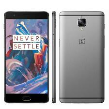 Oneplus 3 Three Android6.0 Snapdragon 820 6+64GB 4G LTE SmartPhone Touch ID Gray