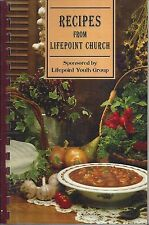*DELAND FL 2004 RECIPES FROM LIFEPOINT COMMUNITY CHURCH COOK BOOK *FLORIDA *RARE