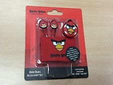 * ANGRY BIRDS RED Earphones iPod, MP3 etc NEW