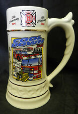 Wildwood NJ Cool Down 126th Anniversary Fire Fighter Department Mug Stein Signed