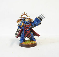 WARHAMMER 40K ARMY ULTRAMARINE COMMANDER  WELL PAINTED