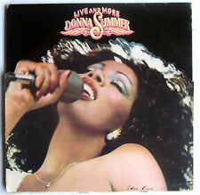 LP (n) - DONNA SUMMER - Live and more - 2LP