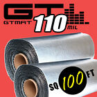 NEW 100sqft GTMAT Supreme 110mil Thick Sound Deadener Noise Deadening Material