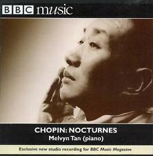 CHOPIN & FIELD NOCTURNES + DEBUSSY: VARIOUS WORKS / MELVYN TAN - BBC CD (1999)