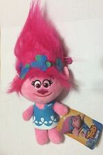 "NWT Poppy Troll 9"" 23cm Trolls Stuffed Plush Toy DreamWorks"