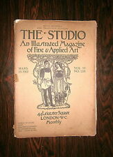 THE STUDIO-AN ILLUSTRATED MAGAZINE OF FINE E APPLIED ART # VOL 55 NO.228 # 1912