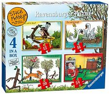 Stick Man - Ravensburger 4 in a Box Puzzles *BRAND NEW*