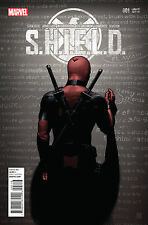 SHIELD #1 Marvel Comics 2014 Deadpool Party Variant Cover Agent Coulson