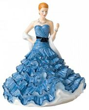 Royal Doulton ISABELLA Pretty Ladies Traditional Figurine HN5751 Blue Dress New