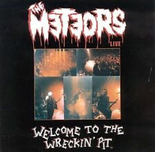 Meteors Welcome to Wreckin Pit CD
