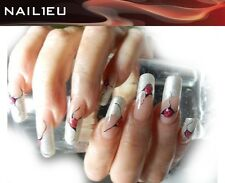 "Gel UV francés ""NAIL1EU Plata"" 5ml/ de uñas French colores"