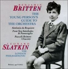 Britten: Sinfonia Da Requiem / The Young Person's Guide to the Orchestra / Four