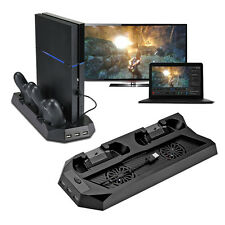 Vertical Stand Cooling Station 2 Controller Charging Dock for PlayStation 4 PS4