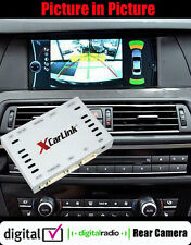 BMW iDrive CIC VIDEO FOTOCAMERA POSTERIORE Multimediale Interfaccia Pip Sintonizzatore TV Controllo 09-13