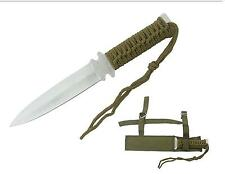 "DOUBLE SIDED 10"" HUNTING SURVIVAL KNIFE"