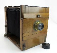 Plattenkamera ca.13x18 + Doppel Anast. Sytar 5,5/195mm G. Leitmeyr München so243