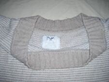 American Eagle Outfitters Womens Size L Multi-Color Ivory and Beige Sweater