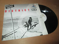 DISTRICT SIX - CHRIS MCGREGOR to be free SOUTH AFRICAN JAZZ - EG Lp 1987
