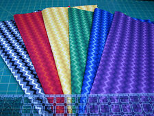 6 Yards Quilt Cotton Fabric - Springs Creative Quilting Basics Tonal Chevron Lot