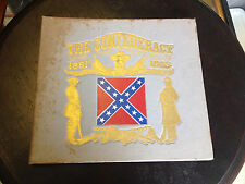 Vintage Book The Confederacy 1861-1865 Signed by Author Richard Bales w/ Record