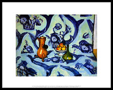 Henry Matisse Still Life with tablecloth poster immagine stampa d'arte quadro & 28x36cm