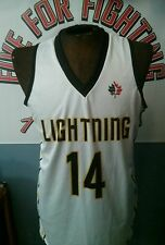 Game worn NBL of Canada London Lightning practice jersey  NBA
