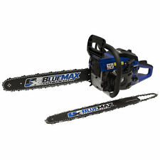 """Blue Max 14"""" & 20"""" Combination Chain Saw With Protective Case"""