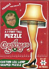 """A Christmas Story™ Leg Lamp Puzzle 500 Pieces 16""""X36""""  2014 USAopoly"""