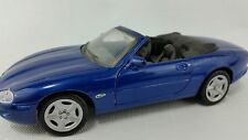 1996 Jaguar XK8 Convertible Blue 1/24 Die Cast Maisto Collectible Car