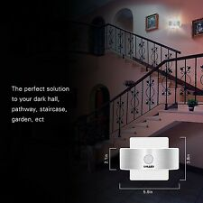 SOLLED Rechargeable Stick Anywhere Bright Motion Sensor LED Night Light Portable