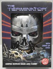 Fright Rags TERMINATOR Endoskeleton Retro Mask+Box NO T-SHIRT Halloween Costume