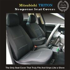MITSUBISHI TRITON ML/MN GL/GLX FRONT AND REAR WATERPROOF NEOPRENE SEAT COVERS