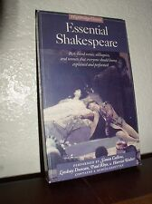 Essential Shakespeare:Best Loved Scenes, Soliloquies and Sonnets (1996,2 Cassett