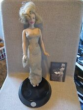 "Franklin Mint Marilyn Monroe Portrait 16"" Doll Happy Birthday Mr. President"