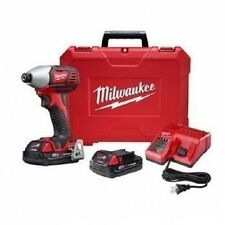 NEW MILWAUKEE 2657-22CT COMPACT M18 FUEL 18 V CORDLESS KIT IMPACT DRIVER DRIVER