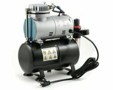 Airbrush Mini Oil-Less Air-Compressor with Tank (Single Piston)