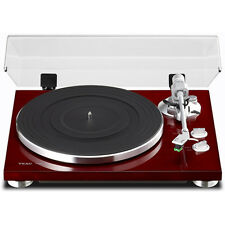 Teac TN-300 2-Speed Analog Turntable - Cherry