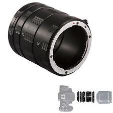 Tubi di Prolunga Fotografia Macro Obiettivi Nikon extension tube lens tubo Kit