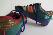 Men's Adidas Skateboard Shoes, Multi Colored Leather, Size 13