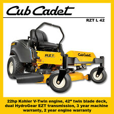 "MTD - Cub Cadet RZT L 42 Zero Turn Mower, 22hp Kohler, 42"" cut - SAVE $500"
