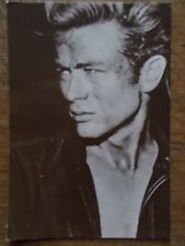 James Dean Original 1980 Wizard & Genius AG Postcard Real B/W Photo unposted
