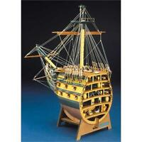 Panart HMS Victory Bow Section Wooden Ship Kit 1:78 Scale 746
