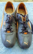 Men's Puma Turin Shoes brown/orange  Size 10.5