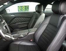 2011 - 2013 Ford Mustang Coupe V6/GT Base Leather Interior - BLACK