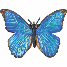 BLUE MORPHO BUTTERFLY by SAFARI WORKS WELL WITH SCHLEICH AND PAPO - 542806