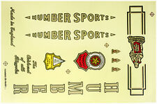 HUMBER VINTAGE BIKE BICYCLE STICKER DECAL NOS SET HIGH QUALITY