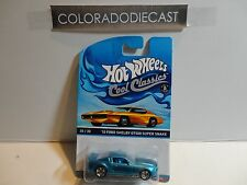 Hot Wheels Cool Classics Spectafrost Blue '10 Ford Shelby GT500 Super Snake
